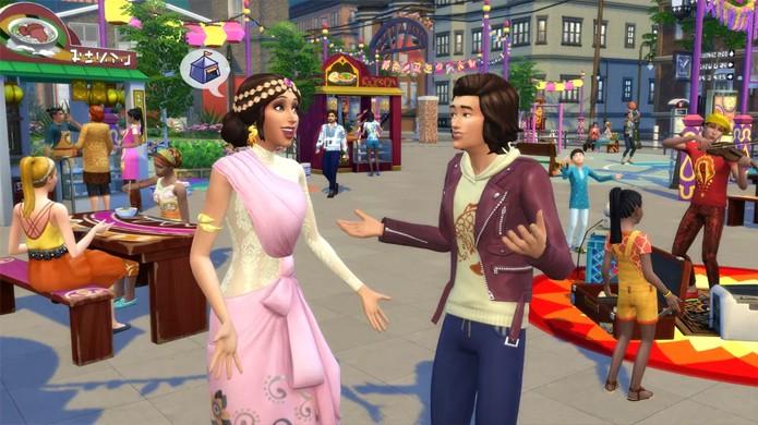The Sims 4 terá nova expansão City Living para seus Sims viverem na cidade grande (Foto: Reprodução/Polygon)