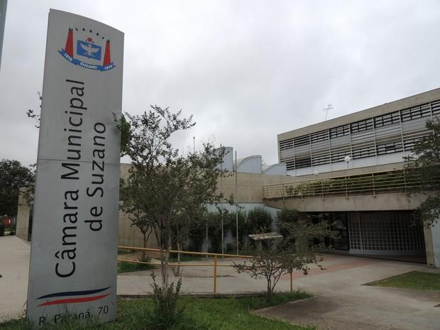 Câmara Municipal de Suzano (Foto: Carolina Paes/G1)