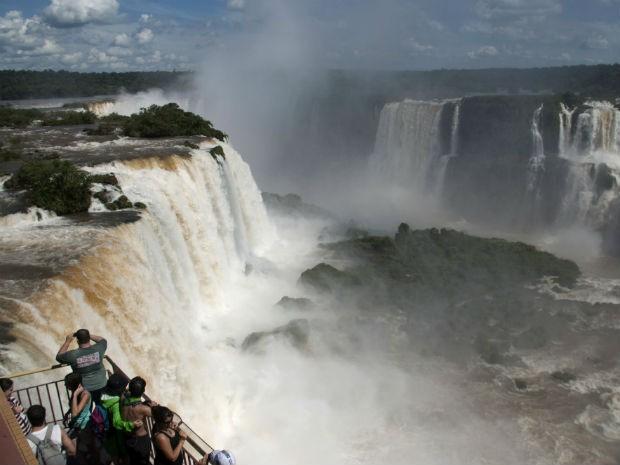 Cataratas do Iguaçu (Foto: : Adilson Borges / Divulgação / Parque Nacional do Iguaçu)