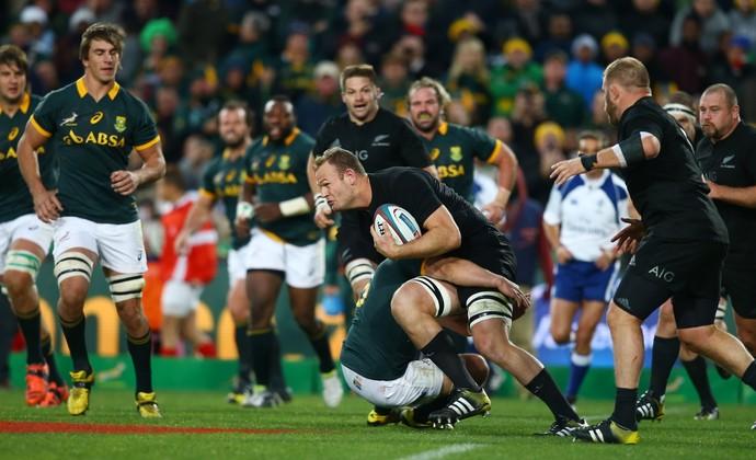 África do Sul x Nova Zelândia rúgbi (Foto: Getty Images)