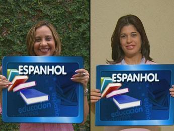 Professoras falaram de verbos pronominais (Foto: Reprodução / TV Globo)