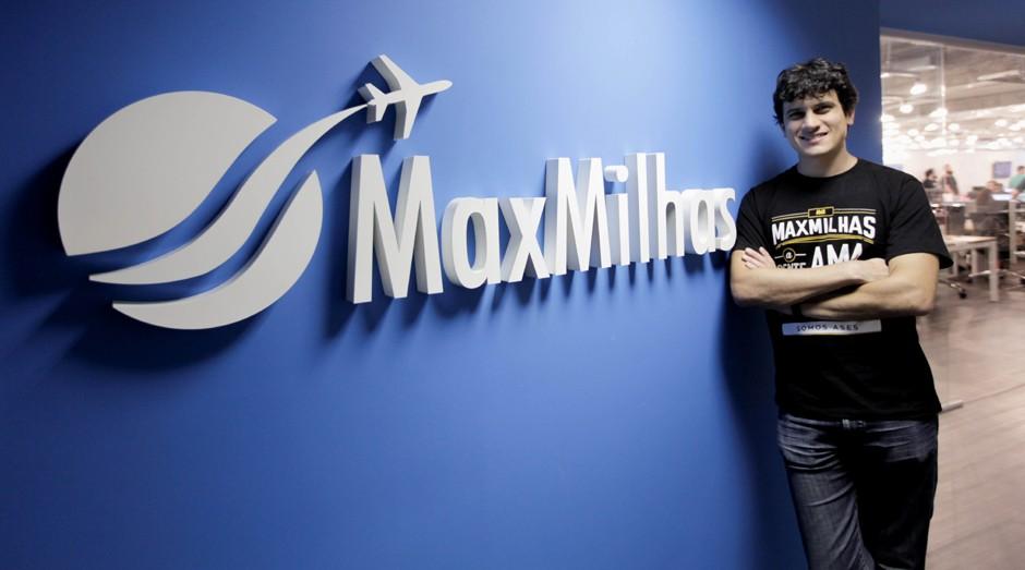 Max Oliveira, do MaxMilhas: empresa movimentou R$ 100 milhões no ano passado (Foto: Divulgação)