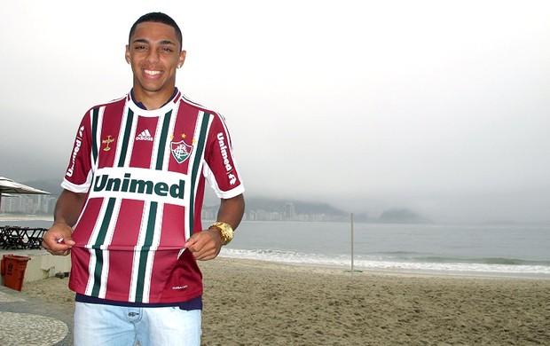 Wallace jogador do Fluminense especial (Foto: Edgar Maciel de Sá / Globoesporte.com)