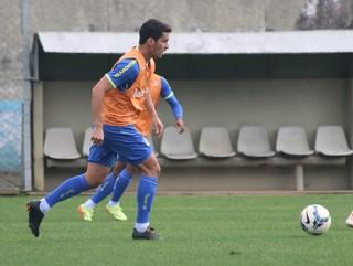 riveros grêmio treino (Foto: Eduardo Deconto/GloboEsporte.com)