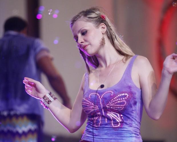 Ana se jogava nas festas do BBB9 (Foto: Fabrício Mota / TV Globo)