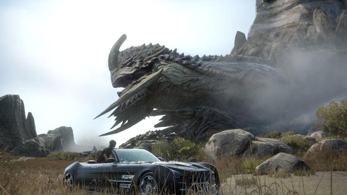 O Adamantoise é o monstro com mais pontos de vida do jogo (Divulgação/Square Enix)