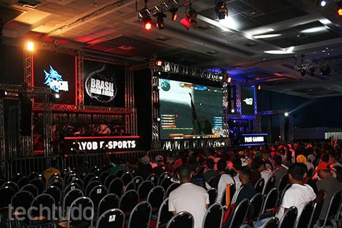 O foco do Brasil Mega Arena é nos esportes, e não nos consoles  (Foto: Felipe Vinha/TechTudo)