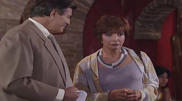 Marta v Leda e Csar juntos e se convence de que a moa  Leila (Foto: Reproduo/viva)