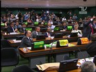 Deputados trocam ofensas em comissão do impeachment