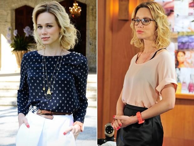 Moderna e romântica, o figurino de Juliana é uma das apostas de Marília Carneiro (Foto: Guerra dos Sexos/ TV Globo)