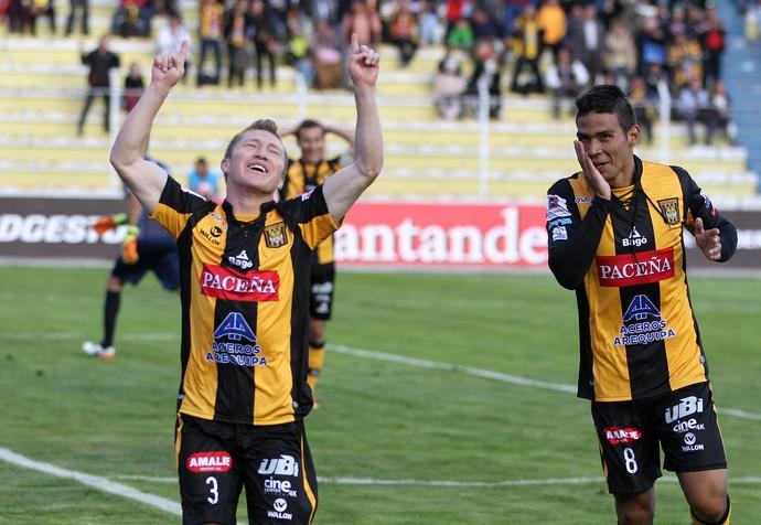 Chumacero The Strongest x Wanderers (Foto: EFE)