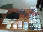 Dois são detidos em flagrante durante roubo a comércio de Alto Paraíso, RO