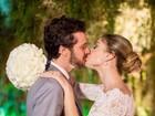 Jayme Matarazzo compartilha foto de casamento: 'O amor'