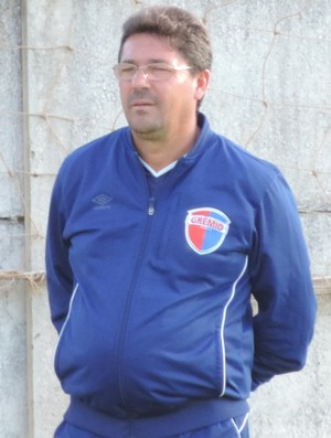 Lelo técnico Grêmio Prudente (Foto: Murilo Rincon / GloboEsporte.com)