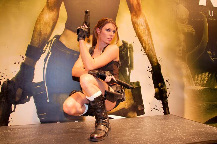 Alisson deu vida à Lara Croft em 2010 (Foto: Reprodução/Wikimedia)