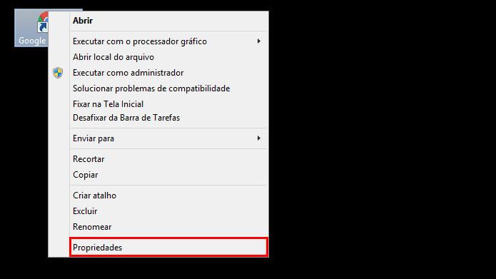 Aplicativos podem ser alterados através de atalhos no Windows (Foto: Reprodução/Chrome)