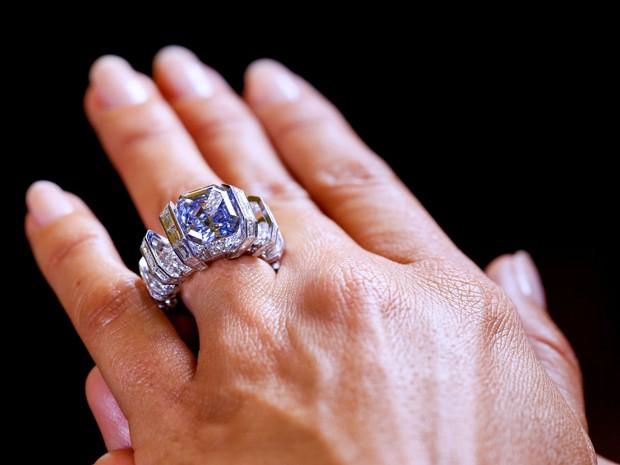 Diamante estava avaliado entre US$ 15 e US$ 25 milhões. (Foto: Reuters)