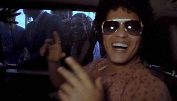 Bruno Mars: clipe com funk carioca (Foto: Reprodução Instagram)