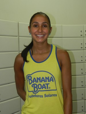 Dayse Figueiredo, ponteira Praia Clube (Foto: Caroline Aleixo/GLOBOESPORTE.COM)