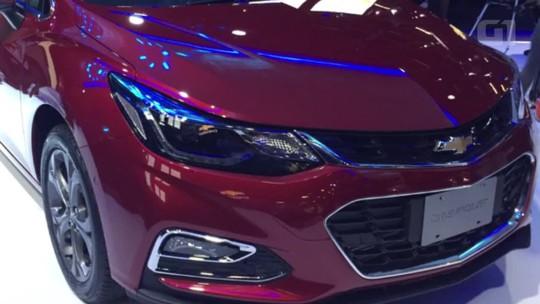 Chevrolet apresenta nova geração do Cruze hatch no Salão de SP
