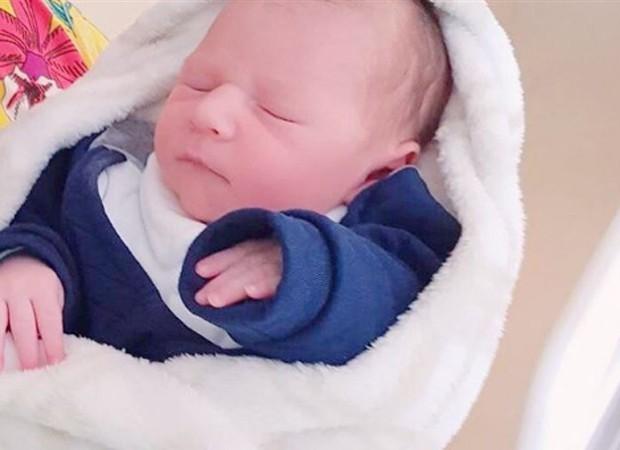 Enrico, primeiro filho de Tiago Barnabé (Foto: Reprodução/Instagram)
