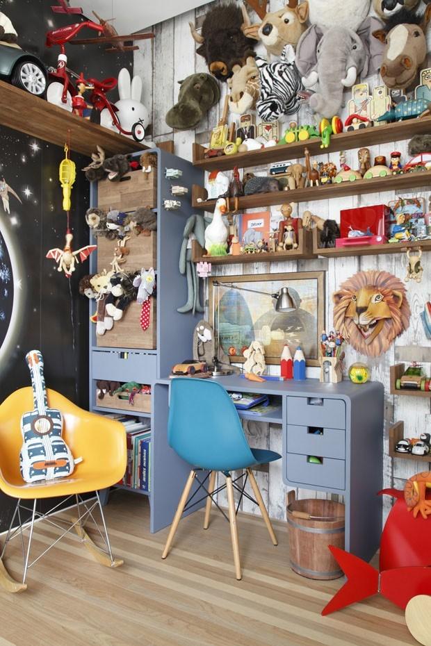 Décor do dia: quarto infantil com muita diversão (Foto: Divulgação)