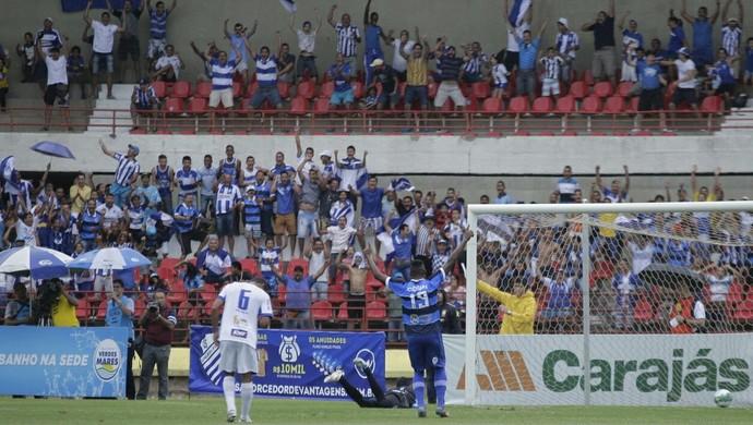CSA x São Bento, no Rei Pelé (Foto: Alisson Frazão/AcomCSA)