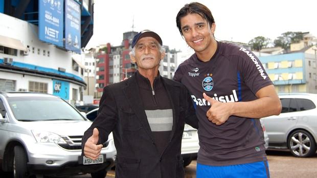 marcelo moreno mauro pai filho grêmio olímpico (Foto: Bruno Junqueira/TXT Assessoria)