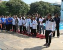 Corinthians presta homenagem aos nadadores do clube nos Jogos do Rio