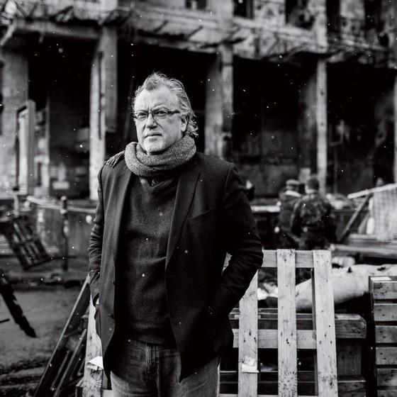 O escritor americano Jon Lee Anderson (Foto: Davide Monteleone)
