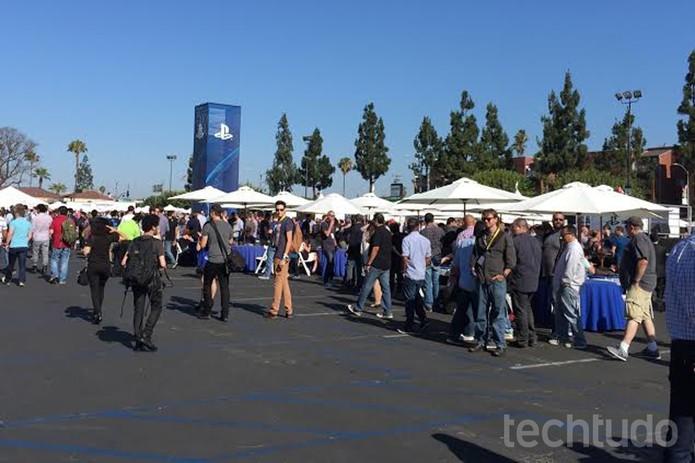 Sony na E3 (Foto: Viviane Werneck/TechTudo)