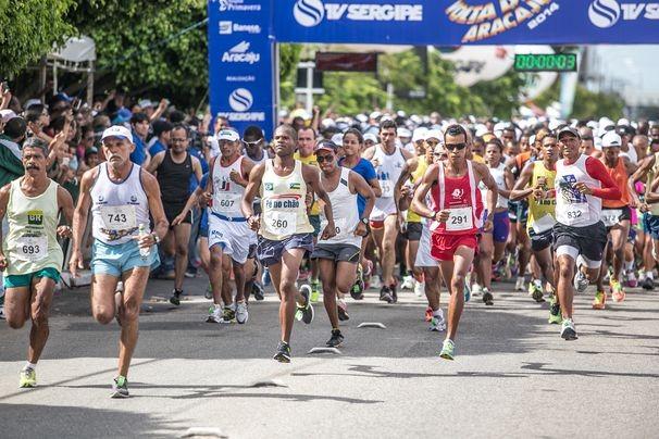 As inscrições para a Volta de Aracaju 2015 seguem até o dia 06 de novembro (Foto: Divulgação / TV Sergipe)