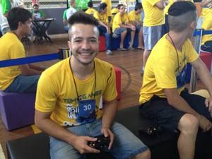 Adriano TEM Games 2014 (Foto: Tatiane Santos / G1)
