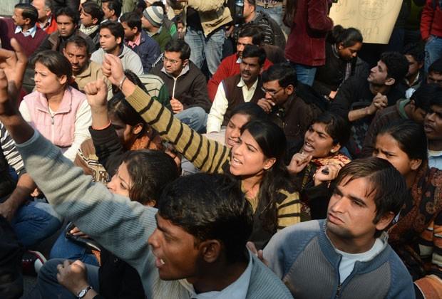 Polícia pediu que manifestantes faça atos pacíficos (Foto: AFP)