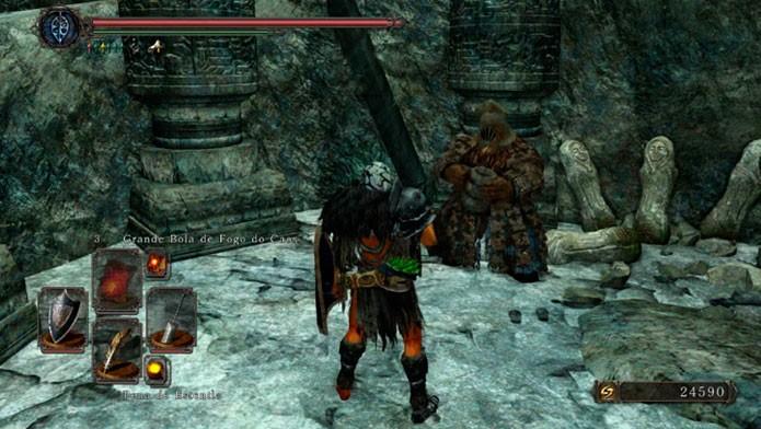 Encontre Gavlan novamente em Doors of Pharros (Foto: Reprodução/Youtube)