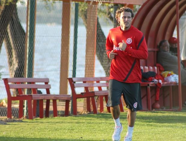 Diego Forlán, atacante do Inter (Foto: Diego Guichard/GLOBOESPORTE.COM)