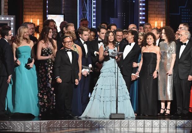 Equipe de 'Dear Evan Hansen' (Foto: Getty Images)