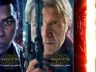'Star wars: o despertar da Força' ganha pôsteres de protagonistas