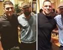 Lutadores do UFC, Nick e Nate Diaz postam foto ao lado de Leonardo DiCaprio