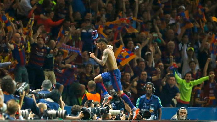 Neymar gol Barcelona x Juventus (Foto: Reuters)