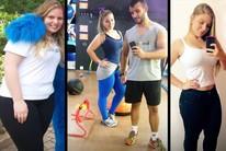 Dieta, treino e nada de doces para Amanda (Eu Atleta | Arte | fotos: arquivo pessoal)