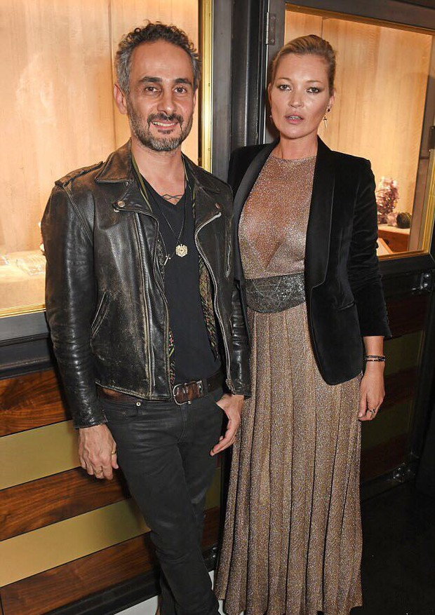 Ara Vartanian e Kate Moss (Foto: Getty Images)