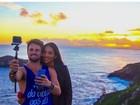 Ex-BBBs Rafael Licks e Talita Araújo celebram quatro meses de namoro