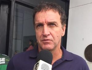 Cuca, Palmeiras, Presidente Prudente (Foto: Murilo Rincon / GloboEsporte.com)