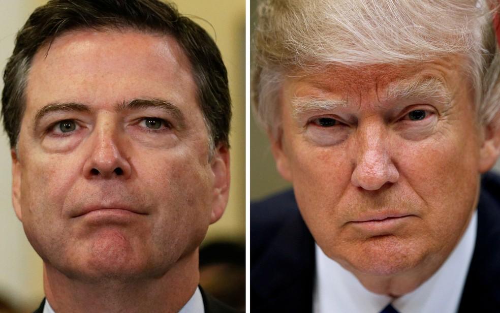 Casa Branca alegou que Comey 'não estaria apto a liderar efetivamente o FBI' (Foto: Reuters/Jonathan Ernst/Kevin Lamarque)