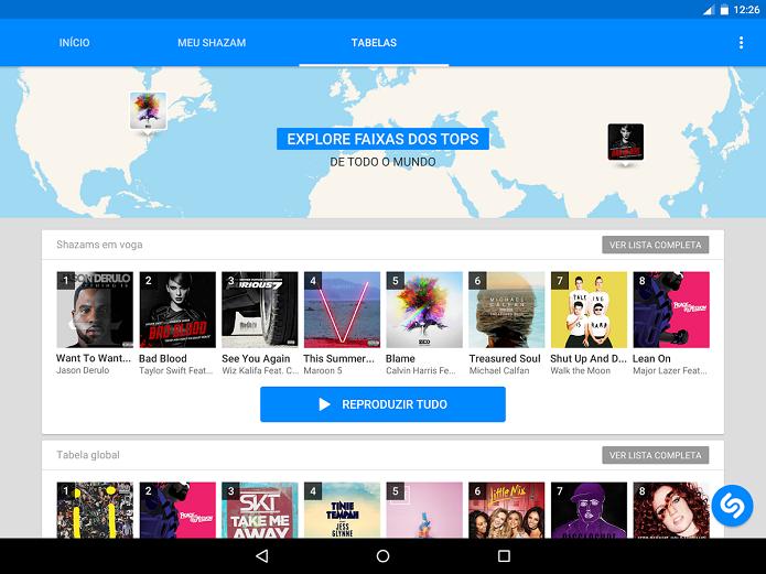 Shazam ganhou compatibilidade com Rdio e Spotify (Foto: Divulgação/Shazam)