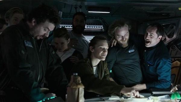 Uma cena do prólogo do novo 'Alien' (Foto: Reprodução)