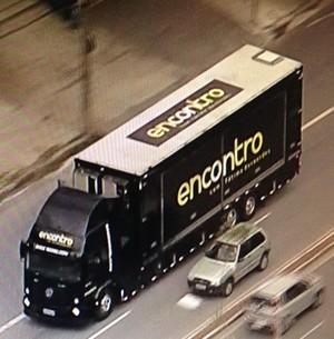 Mande seu flagra do caminhão do Encontro (Rafael Alves/TV Globo)
