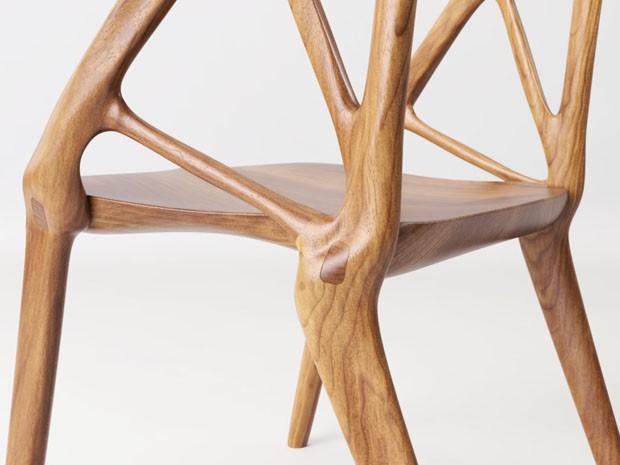 Cadeira é criada com algoritmos  (Foto: Divulgação)