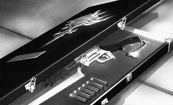 O design original da Gunblade (Foto: Divulgação)